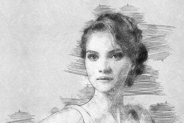1805252 Pencil Sketch Photoshop Action Photo Effects 21683660 ...