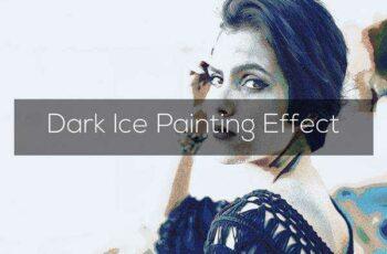 1805292 Dark Ice Painting Effect 2259036 3