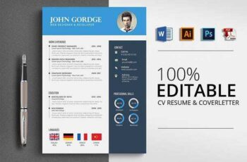 1805299 Professional Word Format Cv resume 2505442 3