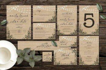 1806002 Rustic Wedding Invitation Suite 2509319 2