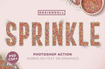 1806009 Sprinkle Photoshop Action 2450214