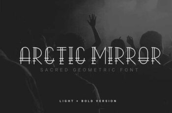 1806028 Arctic Mirror - Sacred Font 2496562