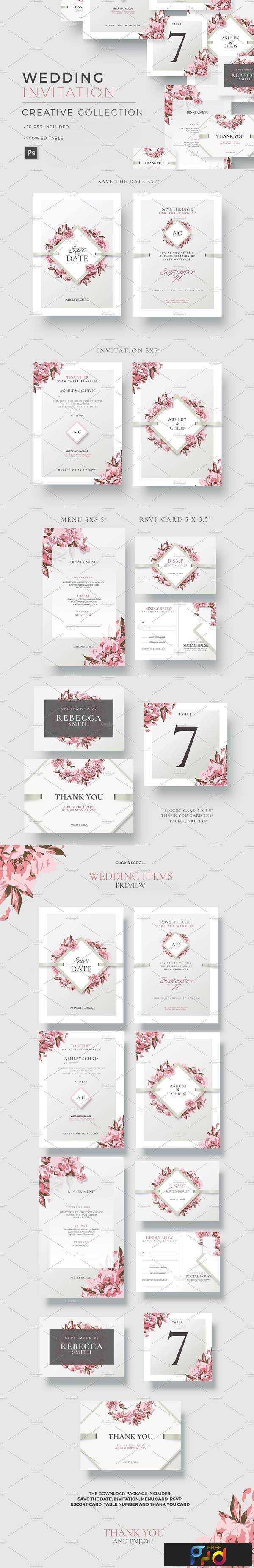 1806038 Creative Wedding - Invitations 1590626 1