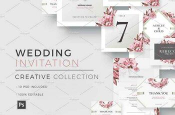 1806038 Creative Wedding - Invitations 1590626 7