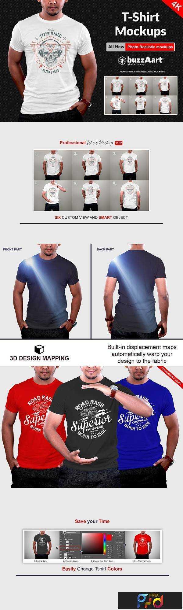1806046 Professional Tshirt Mockups V.02 2498152 1