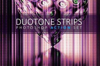 1806059 Duotone Strips Photoshop Action Set 2459110 6