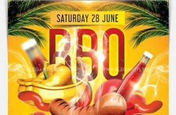 1806092 BBQ Party – Flyer PSD Template 2