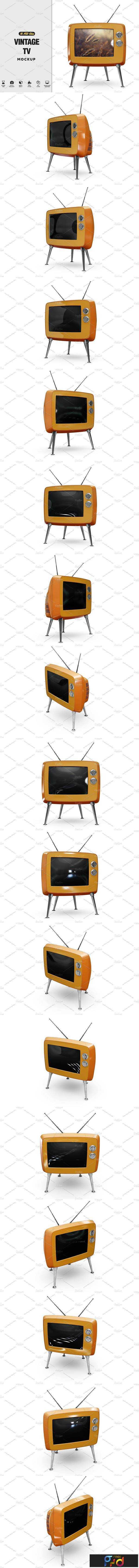 1806102 Vintage Tv Mockup 2555616 1