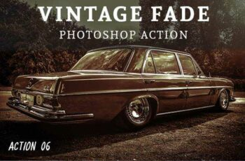 1806103 10 Vintage Fade Photoshop Action 21888019 2