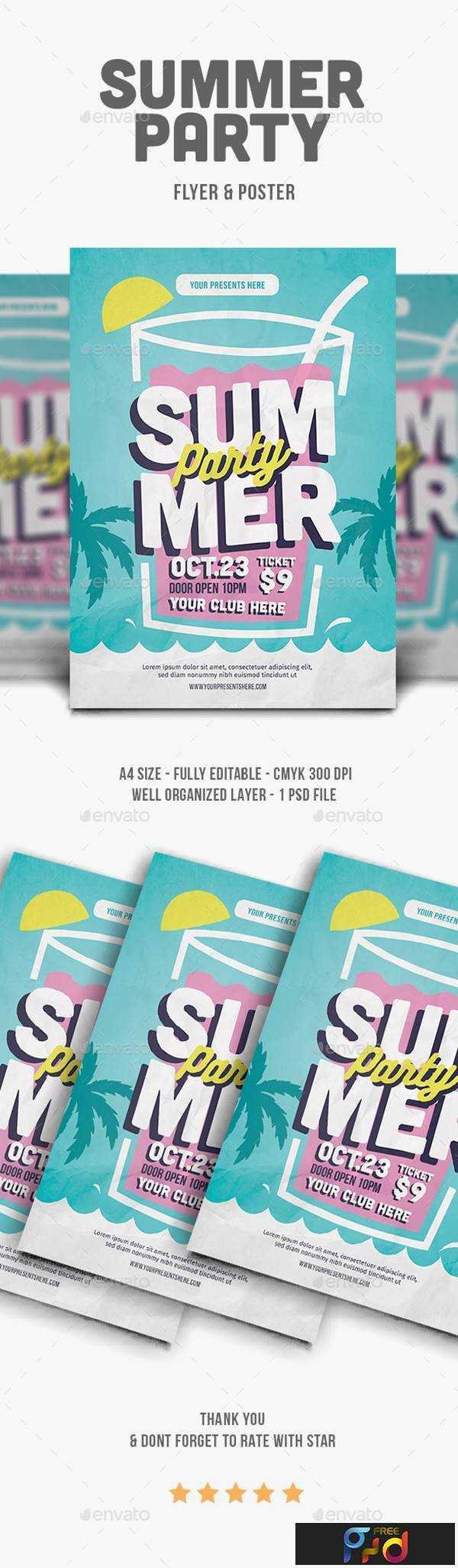 1806110 Summer Party Flyer 21937299 1