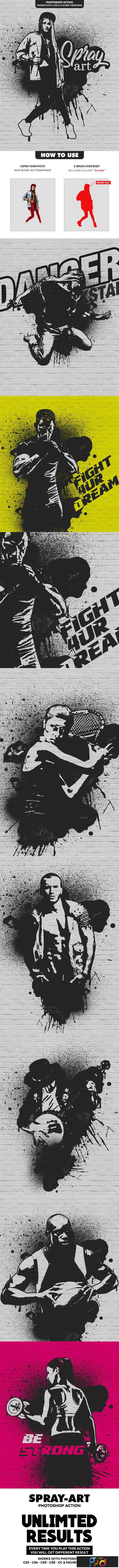 1806113 Spray Art Photoshop Action 21885362 1