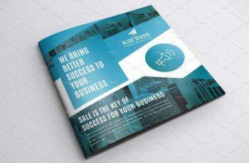 1806130 Square Bi-Fold Brochure Template 2427672 6