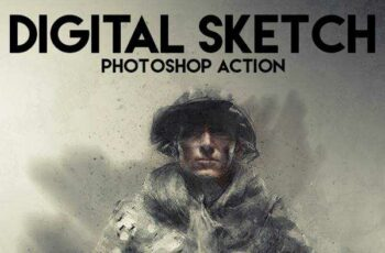 1806149 Digital Sketch Photoshop Action 18722982 6