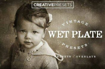 1806153 Wet Plate Lightroom Presets + Overlays  2586915 2
