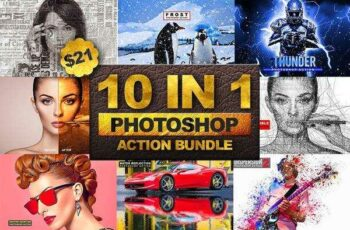 1806155 10 in 1 Photoshop Action Bundle 2 2545082 5