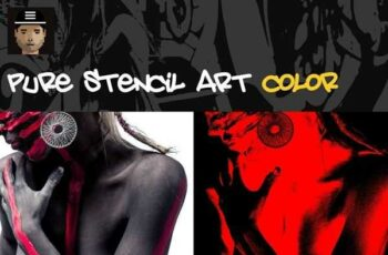 1806163 Pure Stencil Art Vol.2 - Color 2487425 7