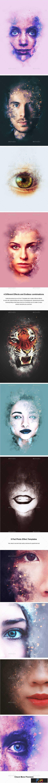 1806169 Artistic Smoke Portrait Photo Effect Templates 21912573 2