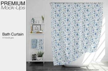 1806180 Bath Curtain Mockup Pack 2316541 7