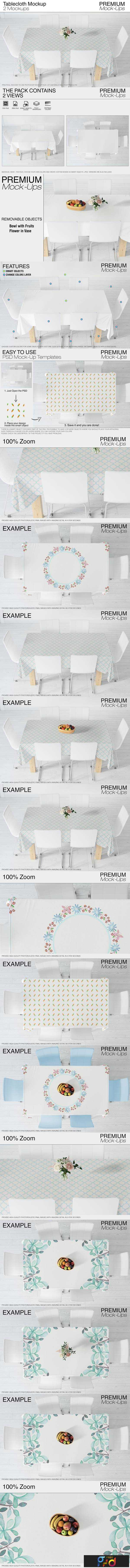 1806186 Tablecloth Mockup Set 2423568 1