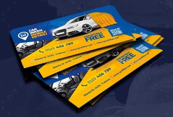 1806190 Car Wash Business Card Templates 21935955 Freepsdvn