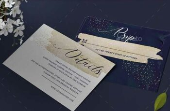 1806196 Glitter Wedding Invitation 22001004 4