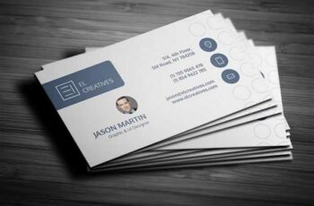 1806249 Clean Individual Business Card 2579616 3
