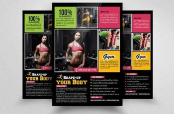 1806255 Fitness Gym PSD Flyer Templates 1570241 5