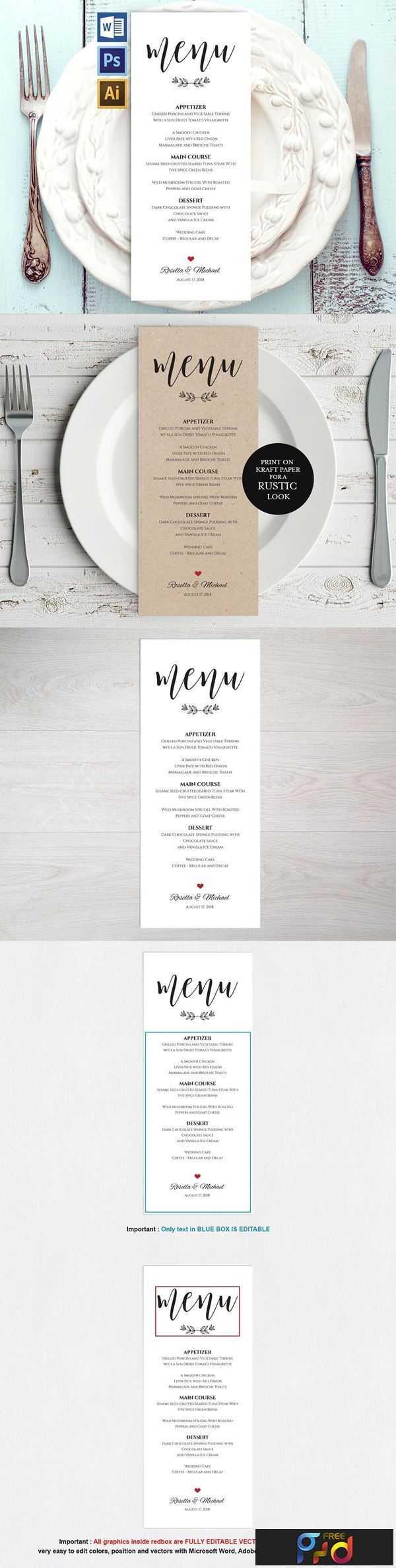 1806261 Wedding Menu Template Wpc 127 1550249 1