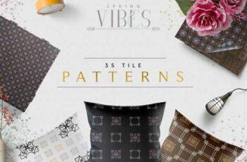 1806263 [Spring Vibes] 35 Tile Patterns 2472127
