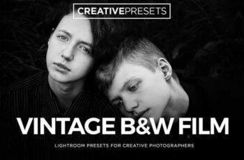 1806270 Vintage Film Black & White Lightroom Presets 2615286 11