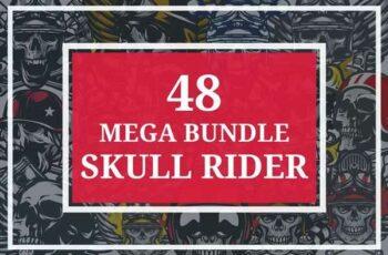 1806281 48 MEGA BUNDLE SKULL RIDER 2509903 4