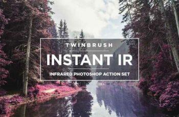 1806299 IR Infrared Photoshop Action Set 980763