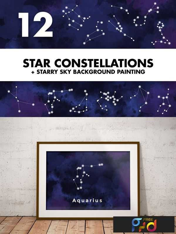 1807007 Star Constellations + Sky Painting 1171537 1