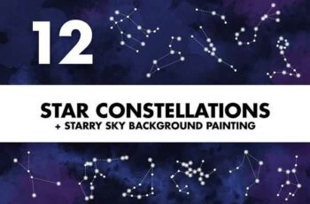 1807007 Star Constellations + Sky Painting 1171537 3