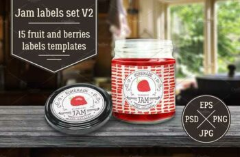 1807026 Jam Labels Design Template Vol.2 2504551 7