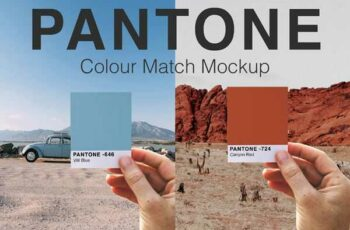 1807028 Pantone Colour Match Mockup PSD 2509422 7