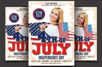 1807054 4th Of July Flyer Template 2555034 4