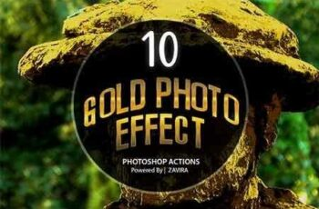 1807059 Gold Photo Manipulation Action 22007760