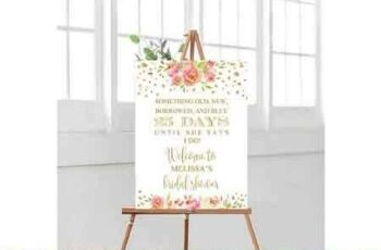 1807060 Bridal Shower Wedding Welcme Sign 2555728 5