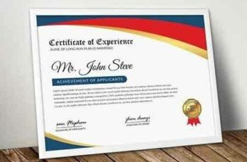 1807066 Company Word Certificate Template 2555023 6