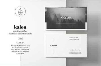 1807076 Kalon - Business Card Template 2555662 2