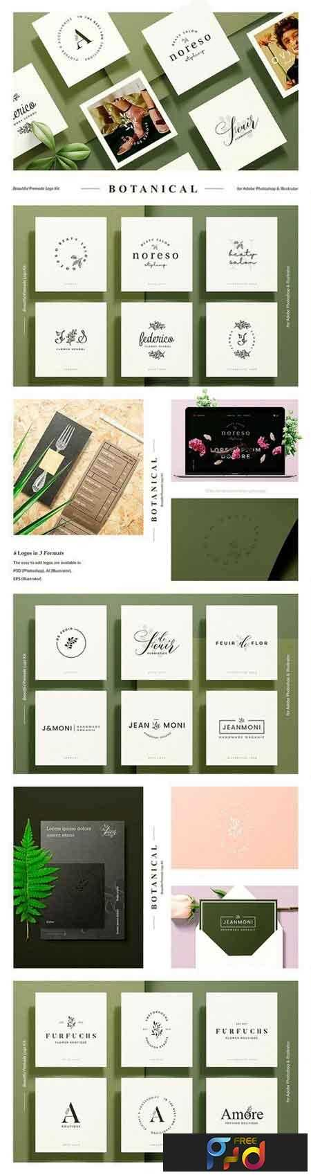 1807091 Botanical Logo Kit 2534755 1