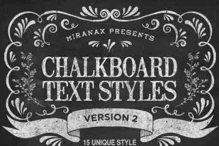 1807102 New Chalkboard Text Effects Vol 2 9835020 - FreePSDvn