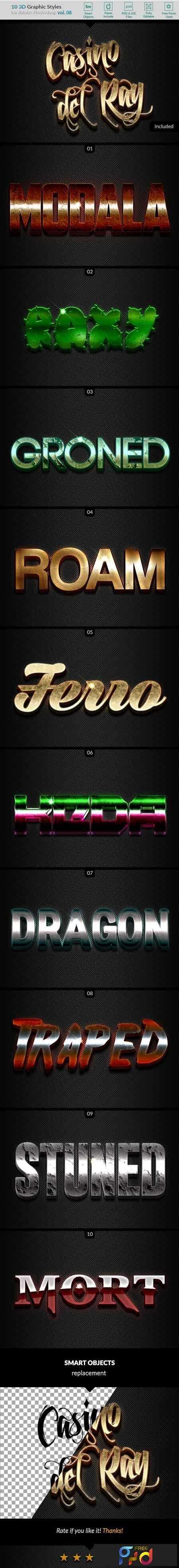 1807104 10 3D Styles Vol 08 22026134 1