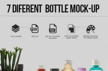 1807139 7 Different Bottle Mock-up 8423730 2