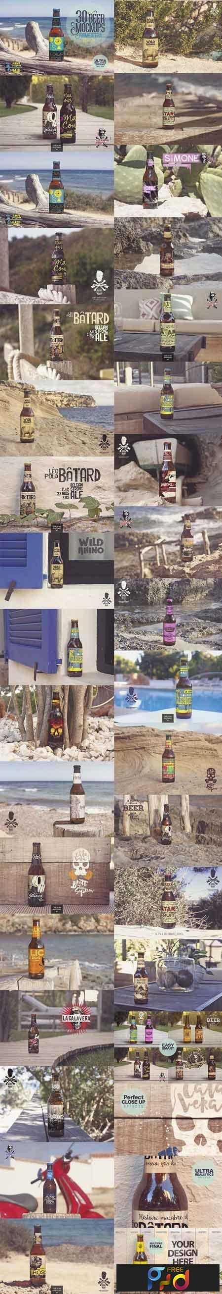 1807141 30 Beer Mockups in Formentera 2665727 1