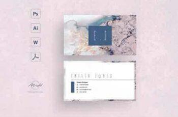 1807151 Sakura business card template 2543408 6