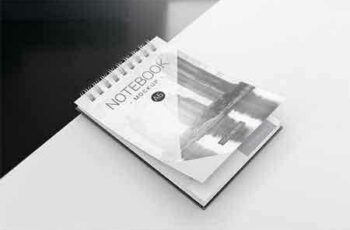 1807153 A6 Spiral Notebook Mockups 6