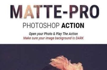 1807164 Mattepro Photoshop Action Special Matte Vintage Effects For Portrait Photography 22085159