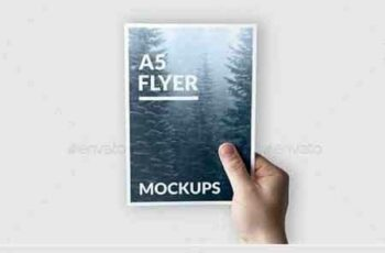 1807175 A5 Flyer Mockups 21356824 3